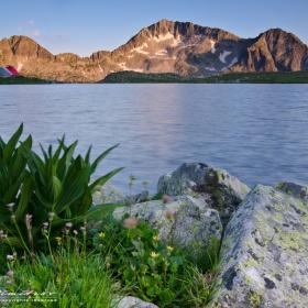 Тевно езеро в един късен следобед :)