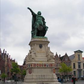 Гент - Паметник на Jacob Van Artevelde