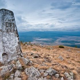 Гранична зона в.Руй 1706м.н.в./пирамидата на границата ни със Сърбия/