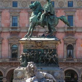 Милано - Паметник на Victor Emmanuel II