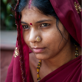 Faces from India