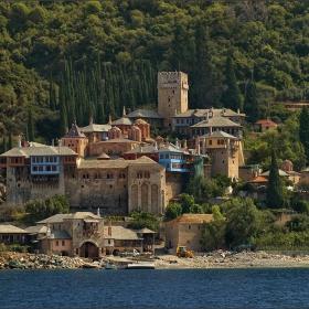 Манастирът Дохиар в Света Гора (Атон)