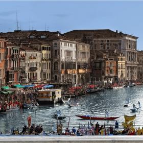 Венеция-Историческата регата