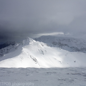 В окото на бурята връх Амбарица 2169м.