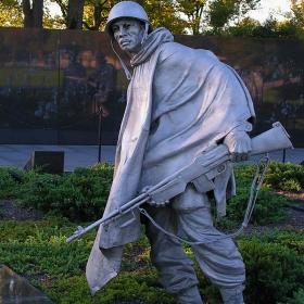 Washington - Korean & Vietnam War Memorials
