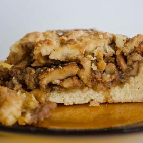 Сладкиш с карамелизирани орехи