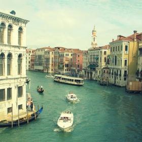 Венеция-4(По Гранде канале)