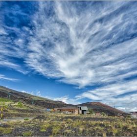 Етна - с едно опърпано небе
