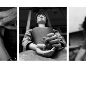 """""""Отвътре"""" е проект, който показва непознатият свят на художника-Евелина Велинова. Проекта влезе в Месец на фотографията 2014 http://photoacademy.org/themonth/2014/"""