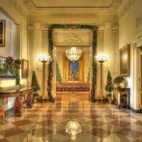 Коледната украса на Бялата къща