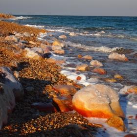 Мъртво море през зимата