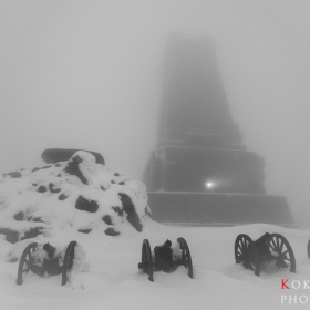 Един мъглив следобед на Шипка