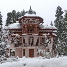 Зимна картина от Боровец...