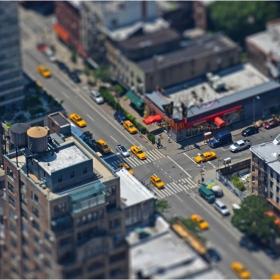 New York tilt-shift