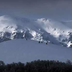 Човекът и планината