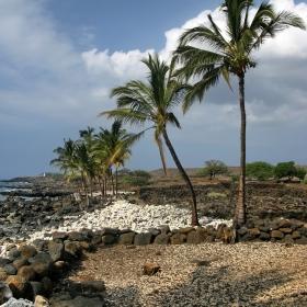 Lapakahi State Historical Park- разкопки на рибарско селище от преди 600 години, просъществувало до началото на миналия век (Hawaii)