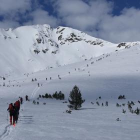 По време на XXIV зимен преглед по планинско спасяване, Банско, 12-14 април 2013 г.
