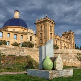 Валенсия - поглед към музея на изящните изкуства