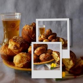 Докато се мотам из сайтовете... Солени кексчета, желателно с бира или айрян, за по-добро храносмилане!