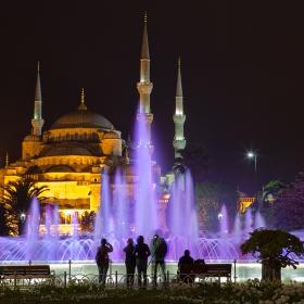 """""""Султан Ахмед""""  във виолет..."""