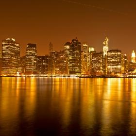 Златният град - 2 (Долен Манхатън откъм Бруклин)