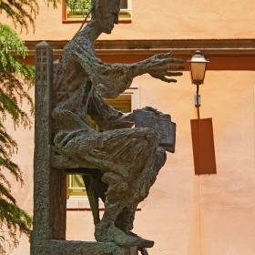 Манастирът в Монсерат - Скулптура