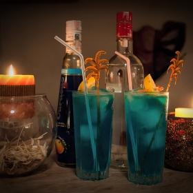 Синя лагуна - с пожелание за хубава вечер! :)