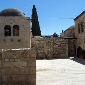 Дворът на Сионската Горница