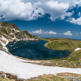 Езеро Бъбрека от Седемте рилски езера
