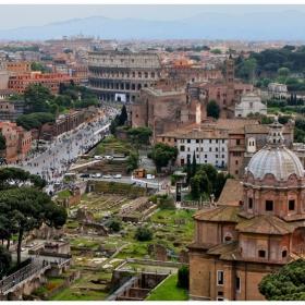 Път към Колизея