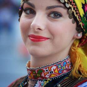 момиче от Гърция