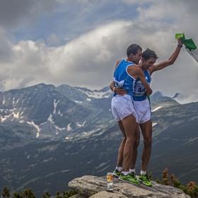Европейските шампиони по планинско бягане от Италия !