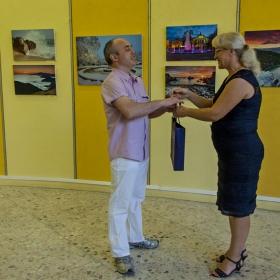 Втора самостоятелна изложба на Кокофреша