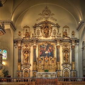 Манастирът на монахините - урсулинки (Квебек)