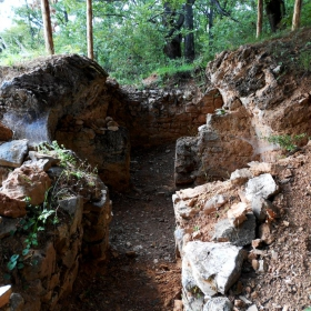 руини в паяжини