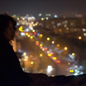 Пловдив-светлини и силует