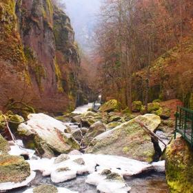Зима, еко пътека Струилица, Девин, България