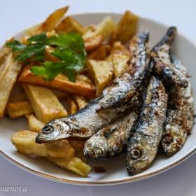 Пасаж риба сред картофено море