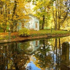 Утро в Александровском парке...