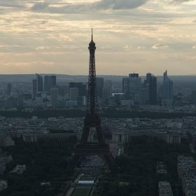 Поглед от Montparnasse