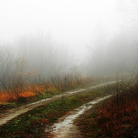 Есенно-мъгливо в планината!