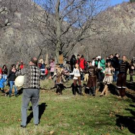 Празнично настроение в Мъглижки балкан