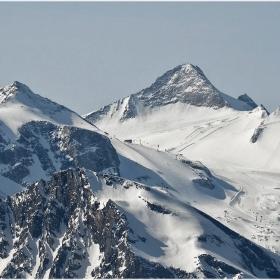 Трихилядници - Gerforene Wand (3250 м), Olperer (3476 м) и Gr. Kaserer (3268 м)
