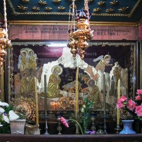 От Базиликата Рождество Христово - Витлеем. Весели празници!