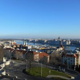 Будапеща - поглед от Рибарските кули