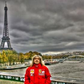 Париж, Франция - Декември 2014