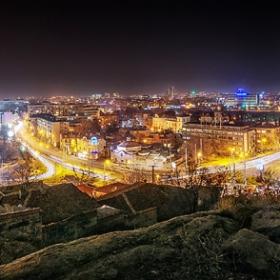 Панорамно от Стражевия хълм