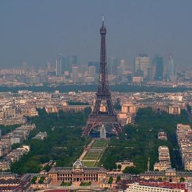 Париж от птичи поглед 2