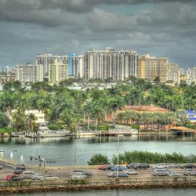 Маями - не винаги е слънчево (но почти винаги е топло)... :-)