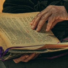 Да държиш Евангелието в ръцете си!